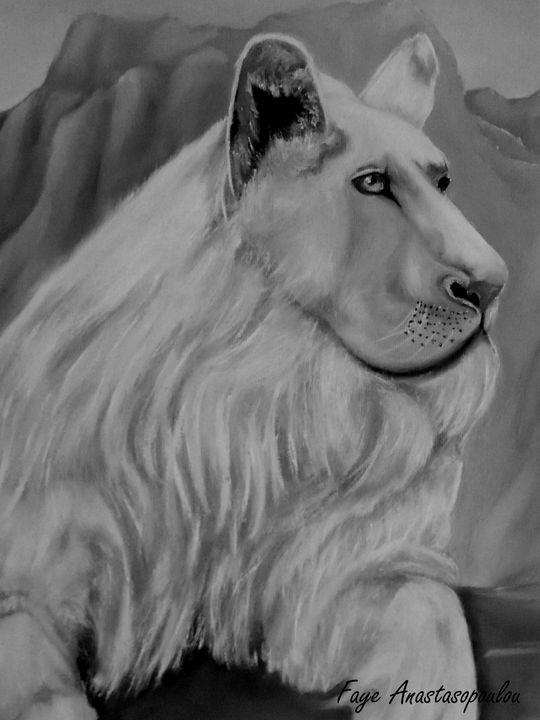 White Lion - Faye Anastasopoulou