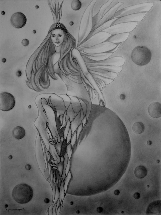 Fantasy World Fairy - Faye Anastasopoulou