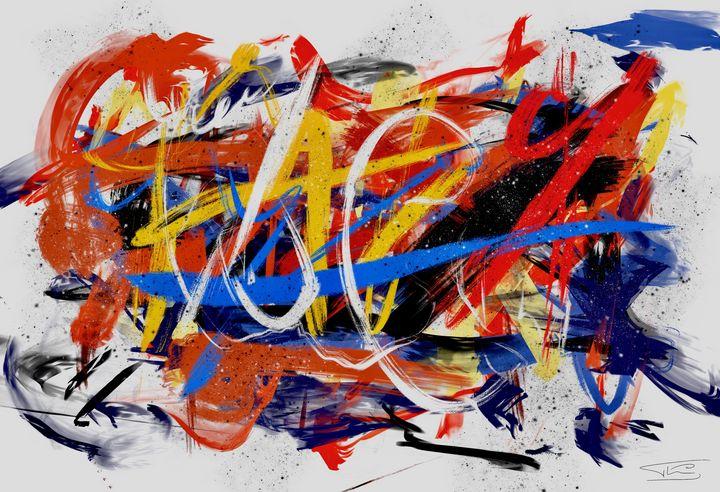 Composition Abstraction Lyrique - Thierry Daudier de Cassini