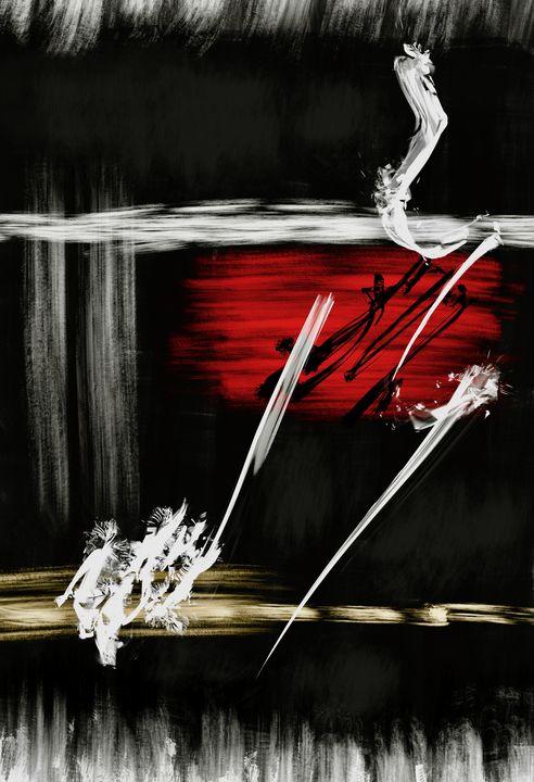 Composition Abstraite - Thierry Daudier de Cassini