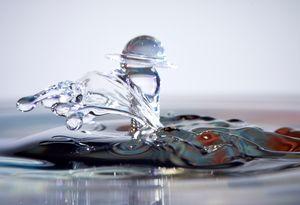 Collisions de Gouttes d'eau
