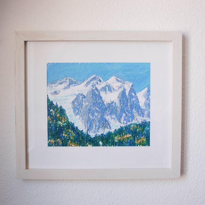 Glacier Wetterhorn, Meiringen - Georges Albert Froidevaux
