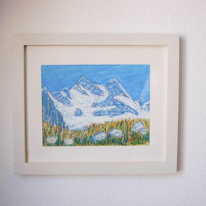 Swiss mountains Sunnega, Zermatt - Georges Albert Froidevaux