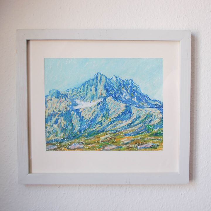 Swiss mountain - Dents du Midi - Georges Albert Froidevaux