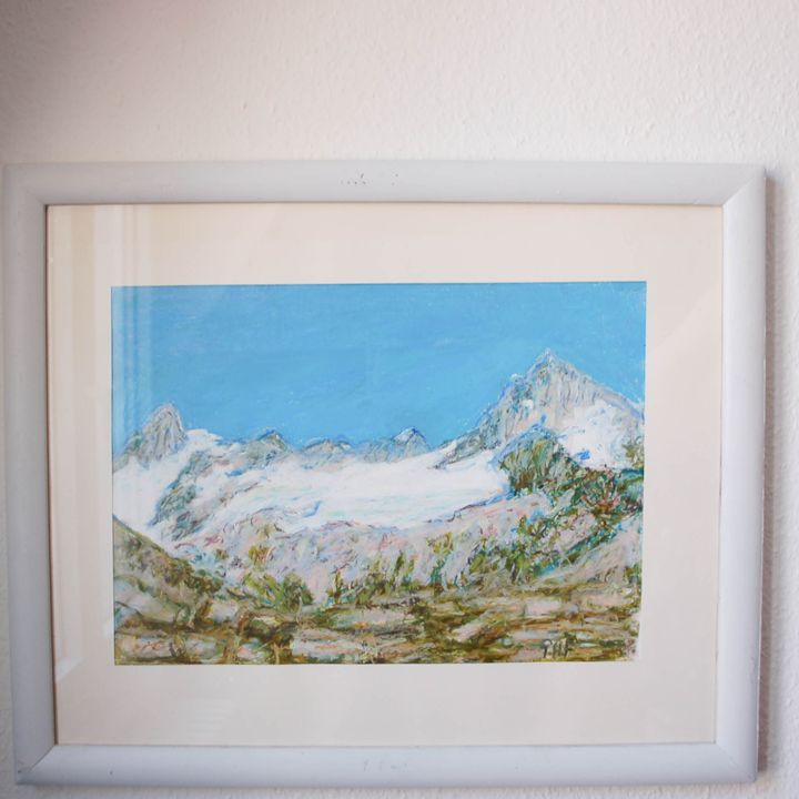 Swiss mountains Breithorn and Cervin - Georges Albert Froidevaux