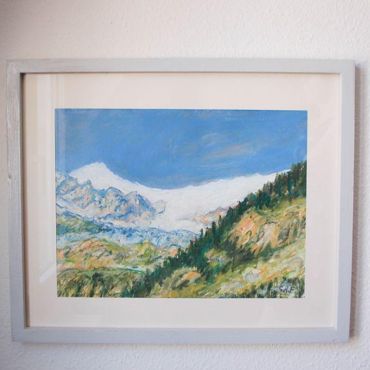 Swiss moutain Weisshorn, Zermatt - Georges Albert Froidevaux
