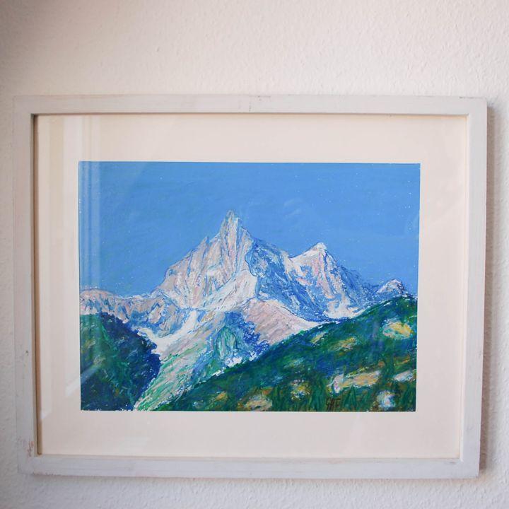 Swiss mountain La Cime de l'Est - Georges Albert Froidevaux