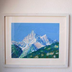 Swiss mountain La Cime de l'Est