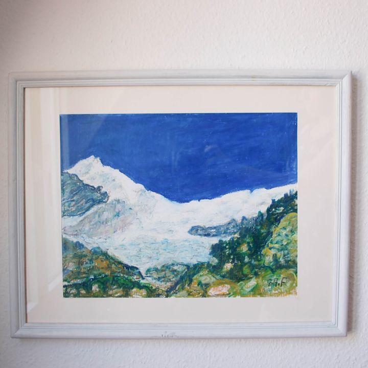 Swiss mountain Weisshorn, Valais II - Georges Albert Froidevaux