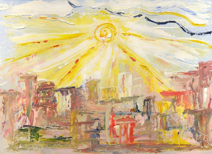 sun in the city, 1 April 2015 - Dea Lieotto