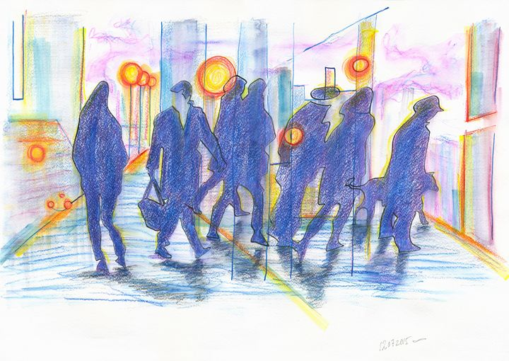 rush-hour crowds_12072015 - Dea Lieotto