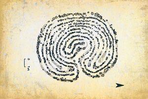 The stone labyrinths of Bolshoi Zaya - Dea Lieotto