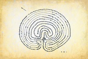 Neolithic stone labyrinths, Krasnaya - Dea Lieotto