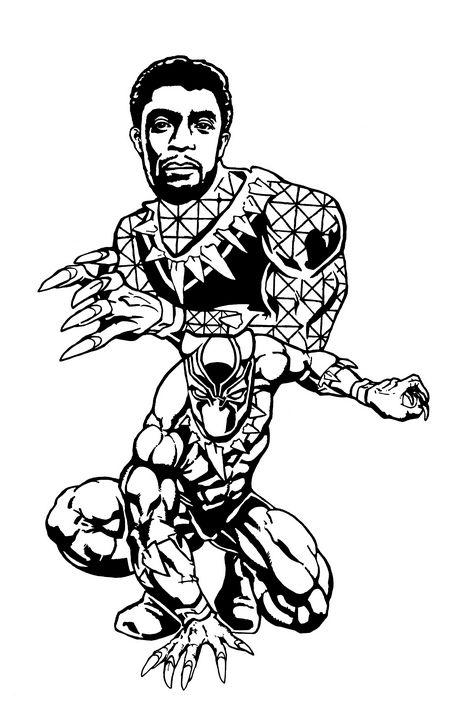 King T'Challa / Black Panther - Peter Melonas