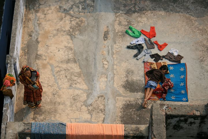Laundry Day, Varanasi - Beynsh Photography