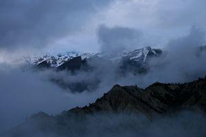 Morning view of Annapurna, Nepal