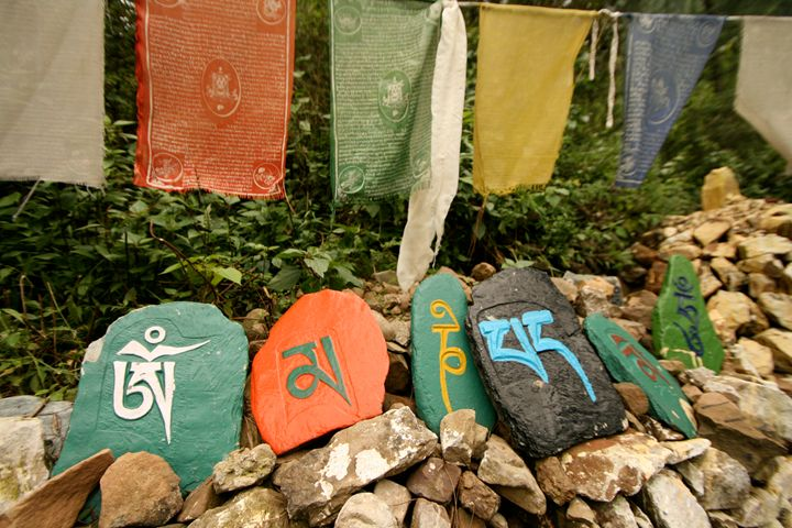 Om Mani Padme Hum, Dharamsala, India - Dano Vukicevich Photography