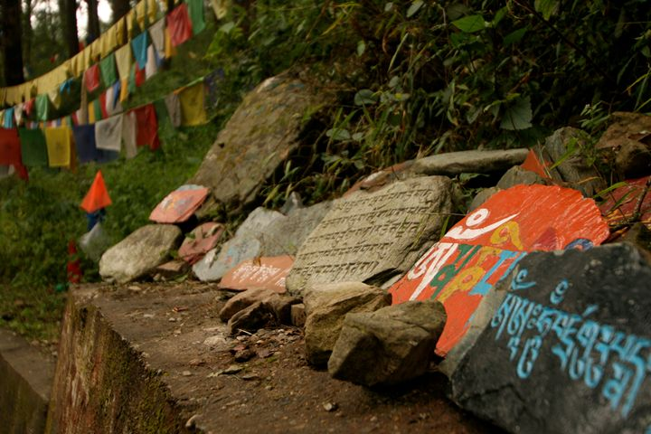 Tibetan Prayers in Dharamsala - Beynsh Photography