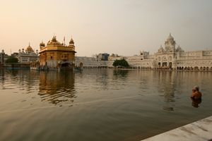 Cleansing at the Golden Temple