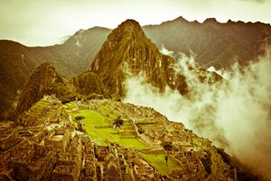 Machu in the Morning