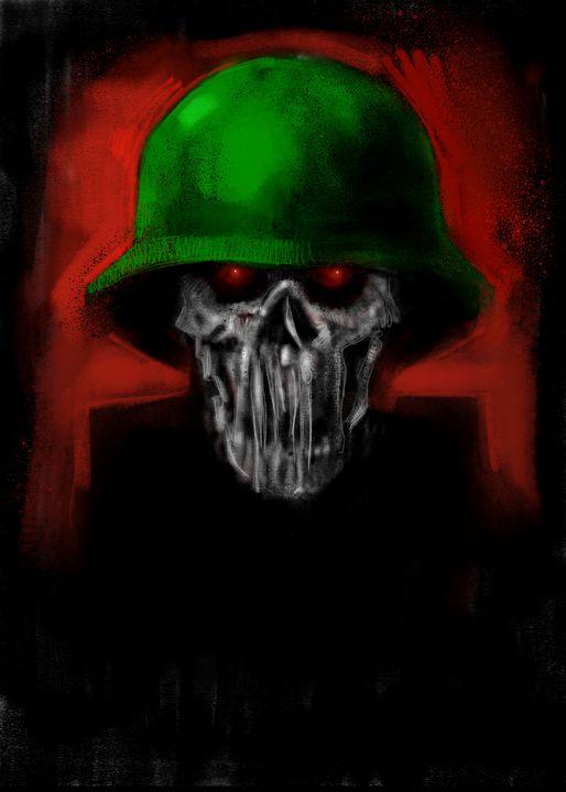 Into The dark - Skull Soldier - Cowyark Rubbark