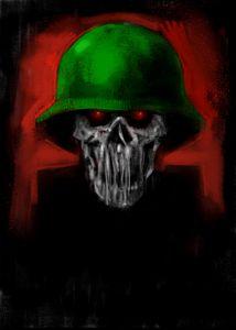 Into The dark - Skull Soldier