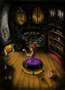 The Witch Secret Lair