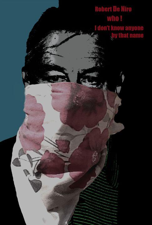 Robert De Niro Who! - Martin Francis Design 519
