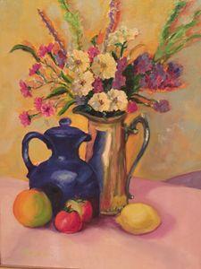 Pots, Petals and Fruit