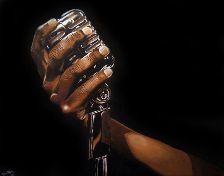 Mic in my hand - David Hunley