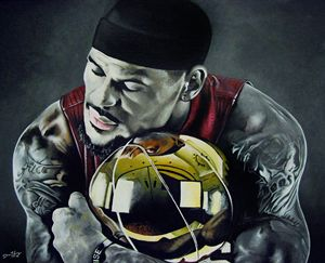 Lebron James - David Hunley