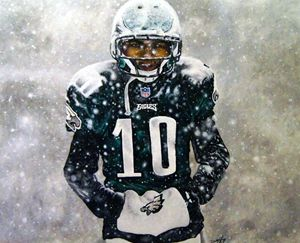 Desean Jackson the snow game