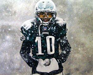 Desean Jackson the snow game - David Hunley
