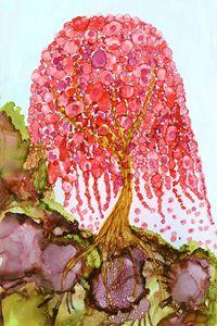 Love in Bloom - Spirit Art by Joan