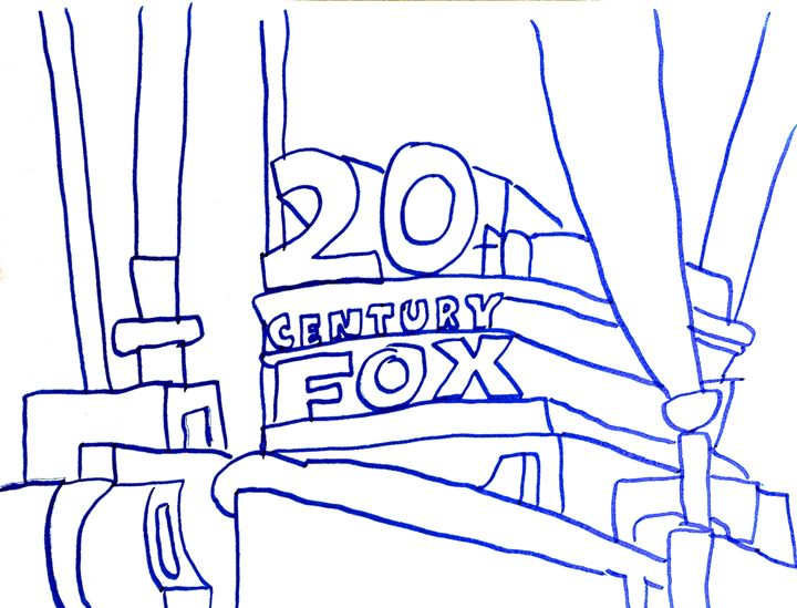 20th Century Fox logo by Had Rees - Hadley Rees