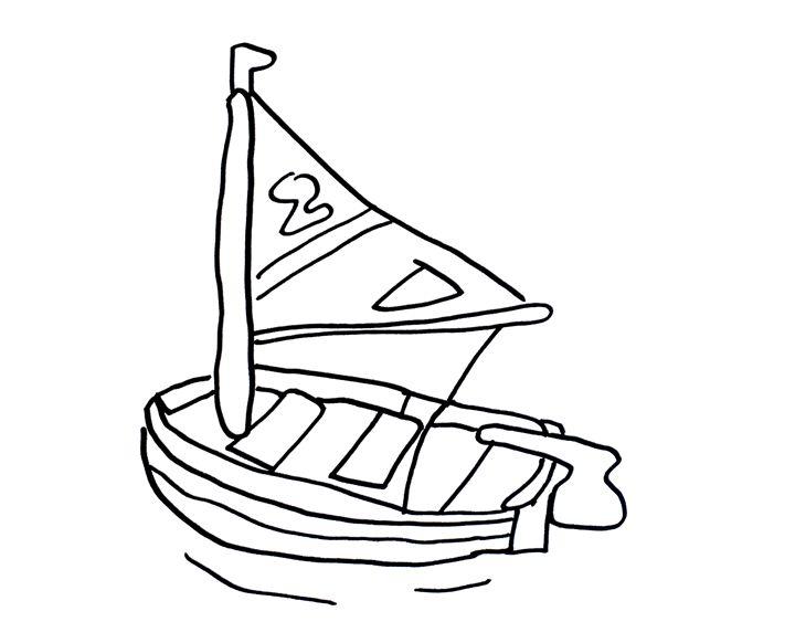 Wasp Sailboat by Had Rees - Hadley Rees