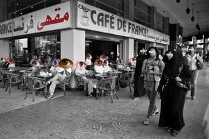 """ CAFEye "" - MOROCCAN CAFE MAIN ROLE"