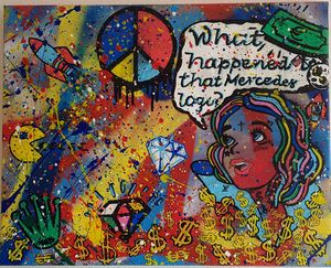 'Peace and Mercedes' by Rem Bernart