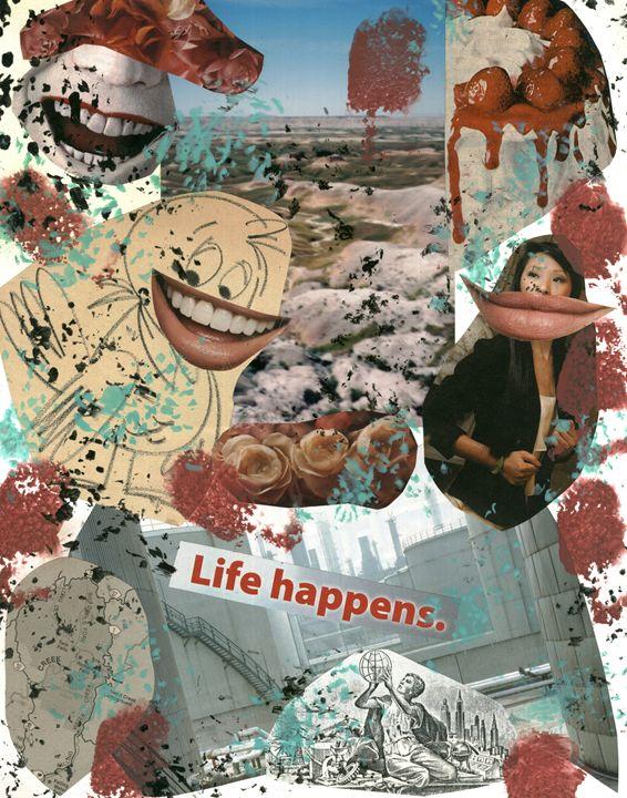 Life Happens - David Jacobi