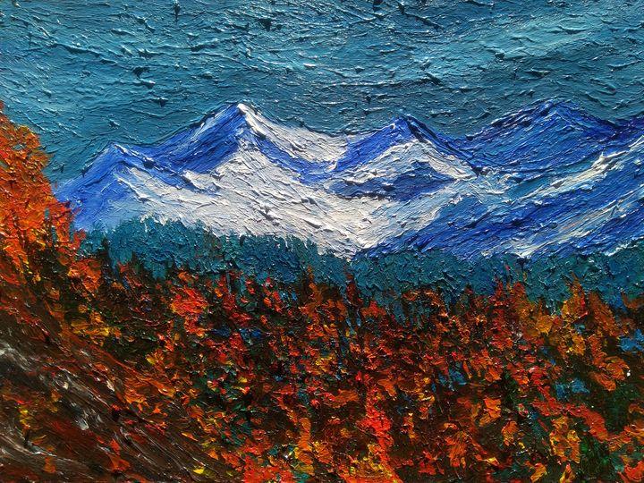 Untitled autumn mountains - Alexander Brisac