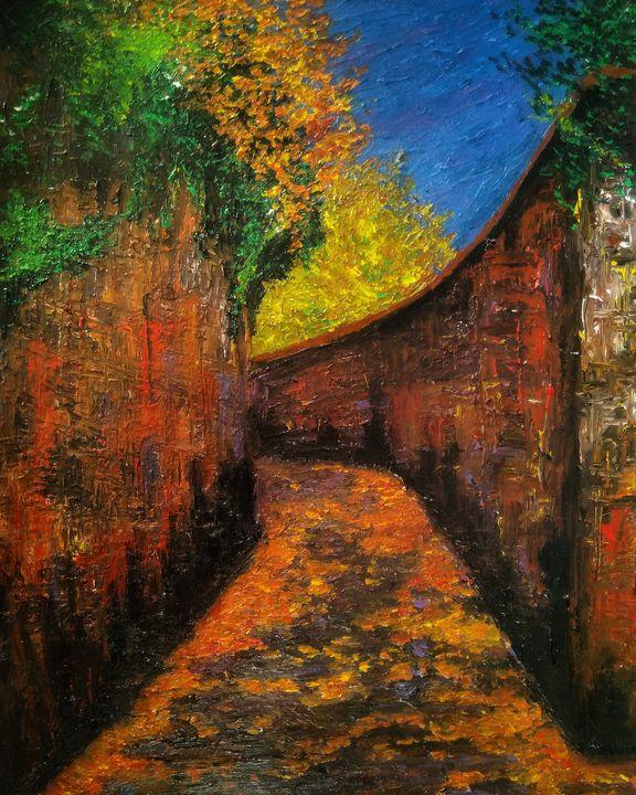 Autumn street - Alexander Brisac