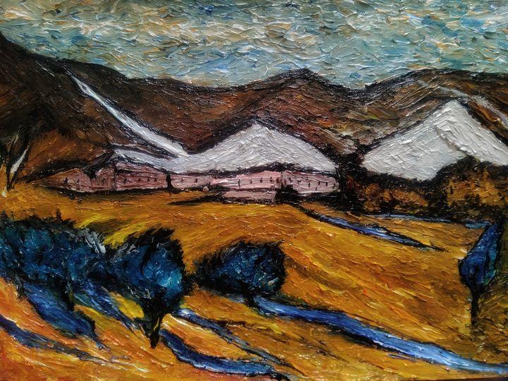 Autumn mountains expression - Alexander Brisac