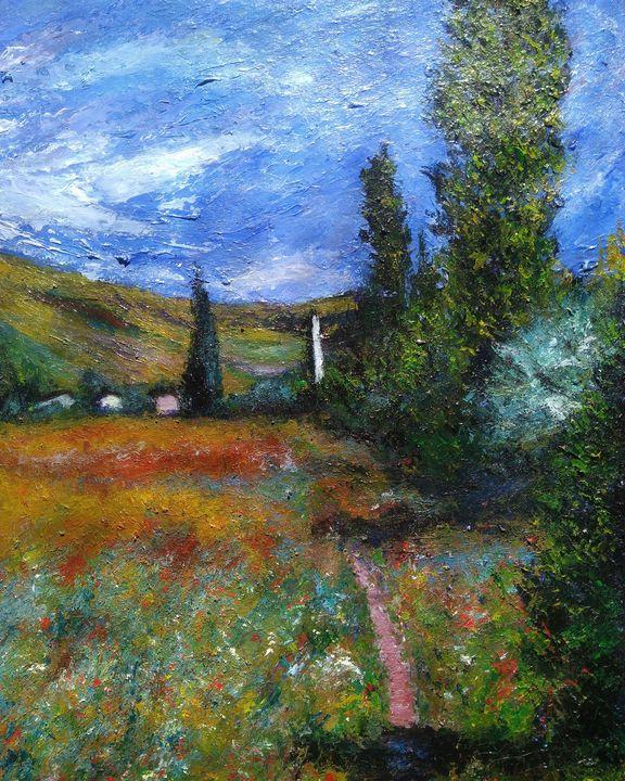 Impressionism, landscape, art - Alexander Brisac