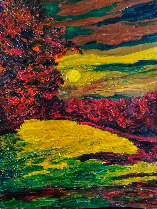 Yellow moon - Alexander Brisac