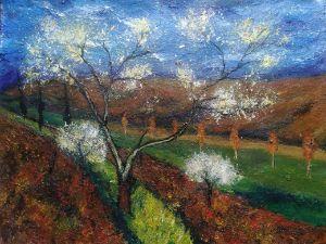 Nature landscape art painting