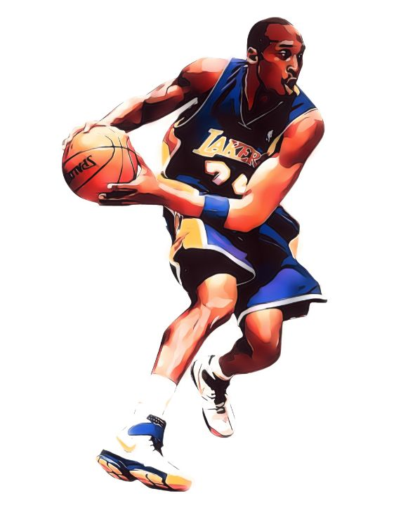 KOBE BRYANT LOS ANGELES LAKERS 3 - Joe Hamilton Sports Art