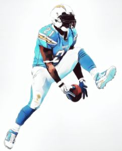 LADAINIAN TOMLINSON CHARGERS 2