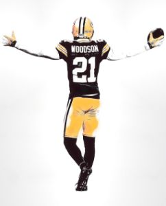 CHARLES WOODSON GREEN BAY PACKERS 2