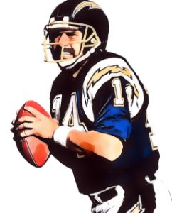 DAN FOUTS SAN DIEGO CHARGERS