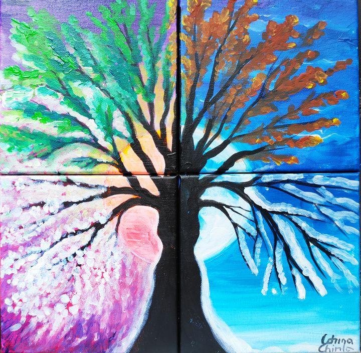 the tree of the 4 seasons - CORinAZONe
